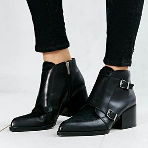 Reese monk strap ankle boot